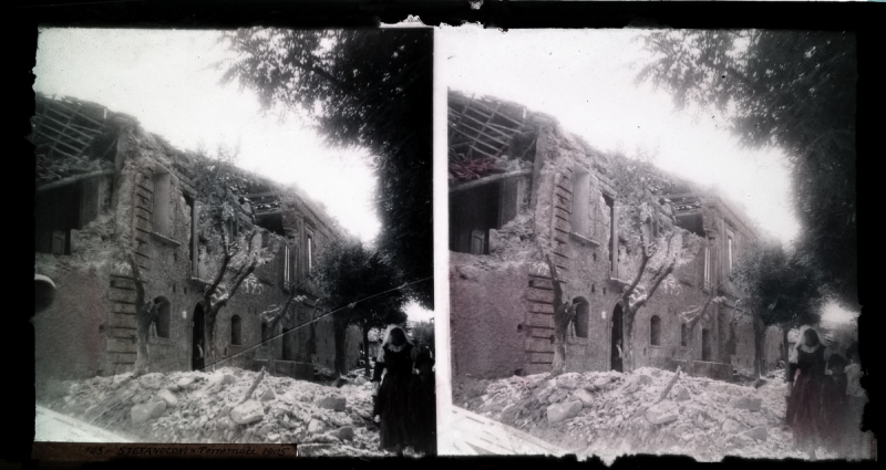 Hai Sentito il Terremoto? - Stereoscopic images of ancient